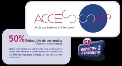 Logo service à la personne Fabien DURET Paysage, paysagiste Saint-Mathurin